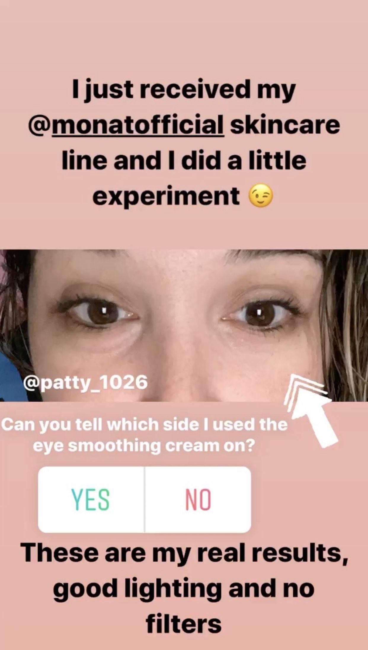 Monat Skin Eye Smoothing Cream Results Monat Hair Smoothing Cream Monat