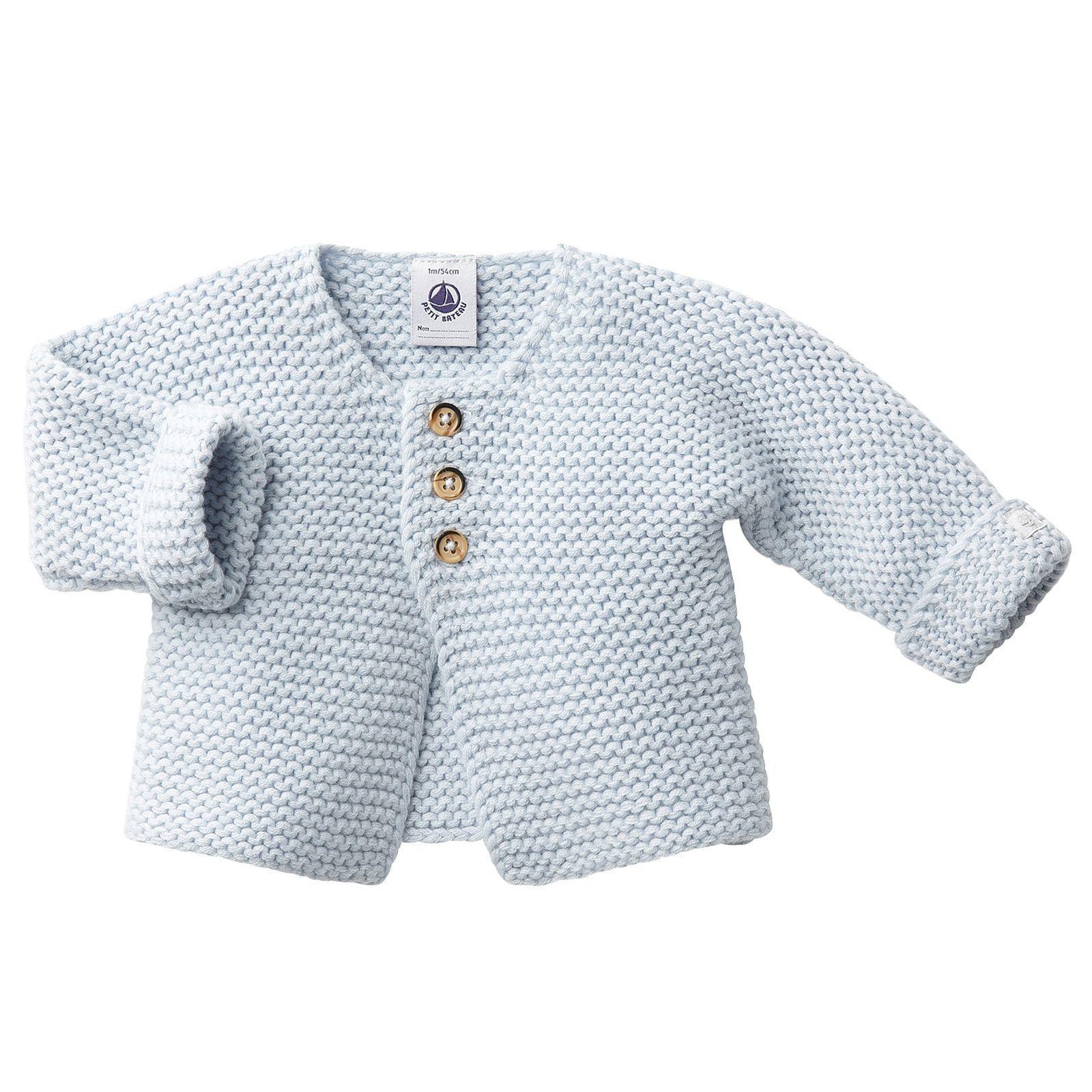 Petit Bateau Unisex Baby Strickjacke