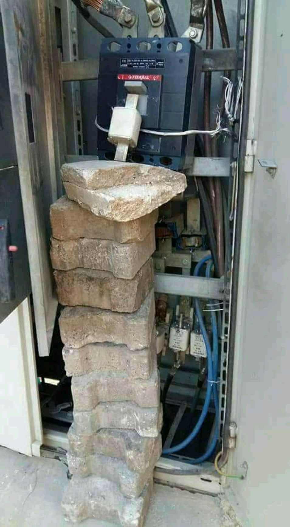 That's how u do it!! Safety fail