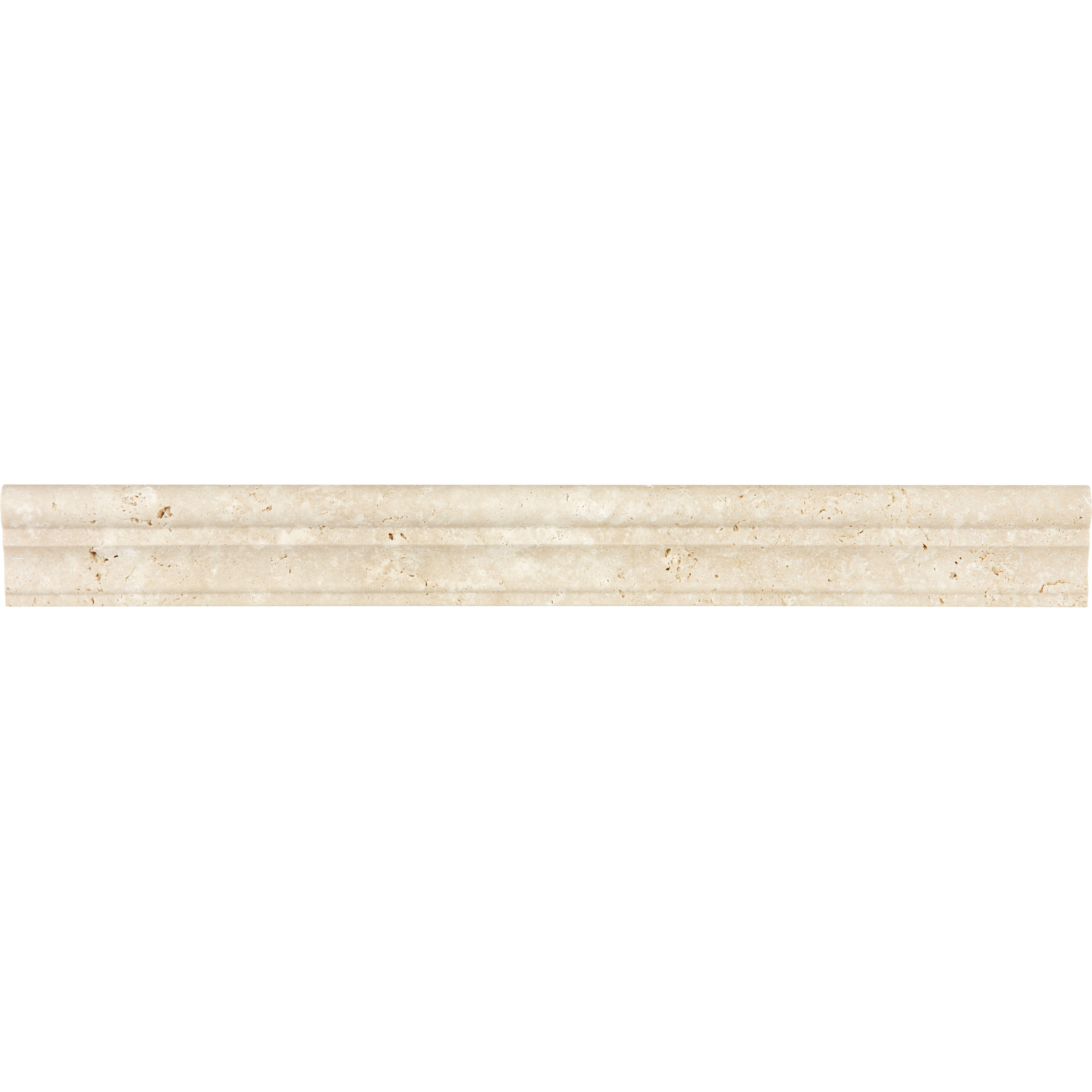 lowes chair rail tile emco fishing anatolia chiaro travertine common 1