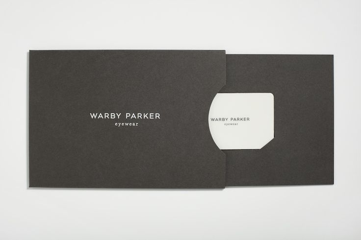 f6d4768a66 Warby Parker Gift Card Packaging - High Tide