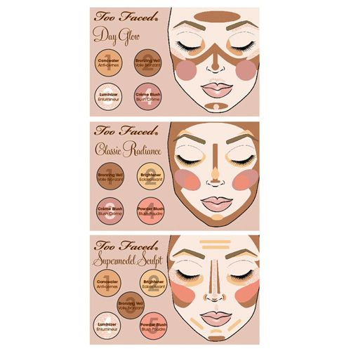Too Faced Natural Radiance Face Palette | cosmetics | BeautyBay.com