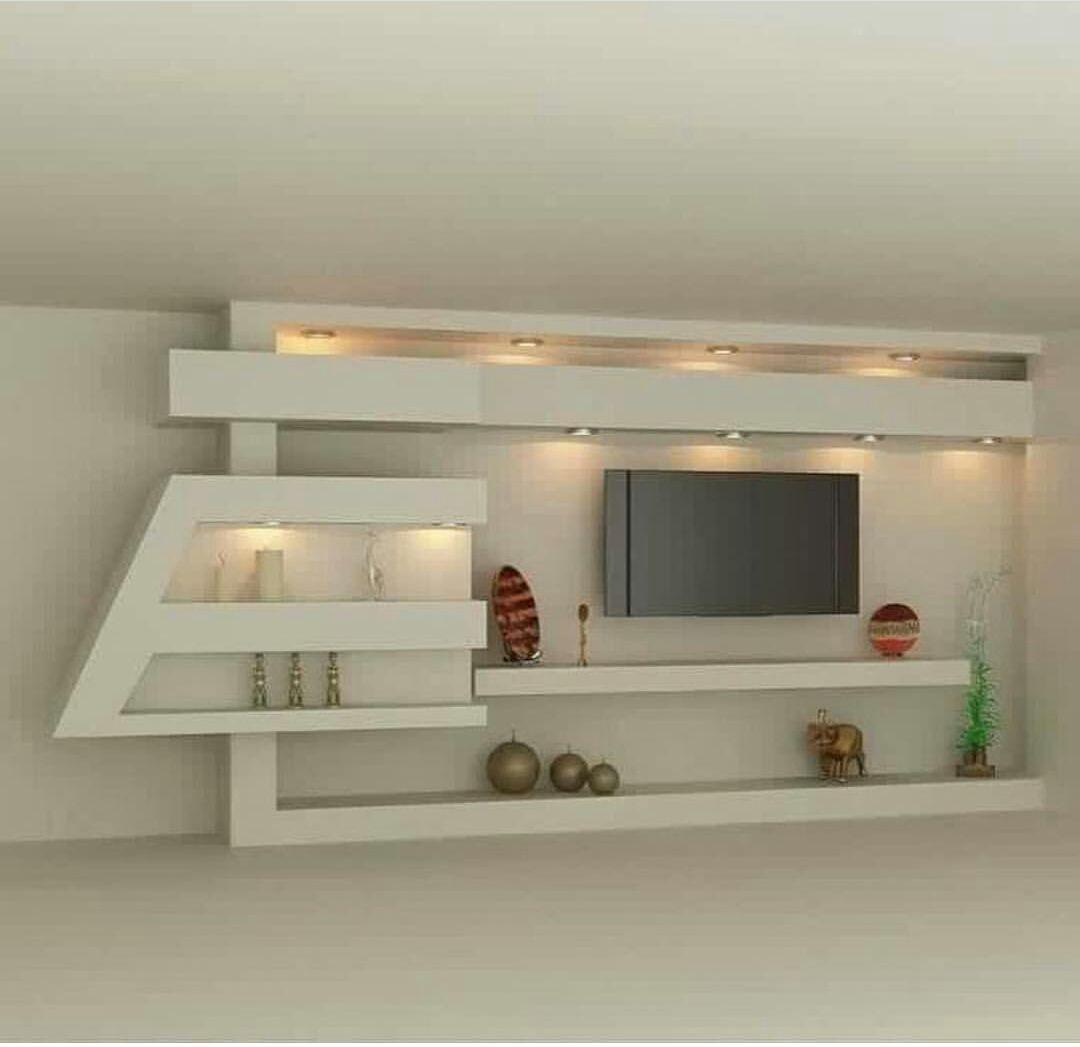 اصباغ الكويت 55050048 ورق جدران بالكويت جبس بورد بالكويت Modern Tv Wall Units Tv Wall Design Wall Unit Designs