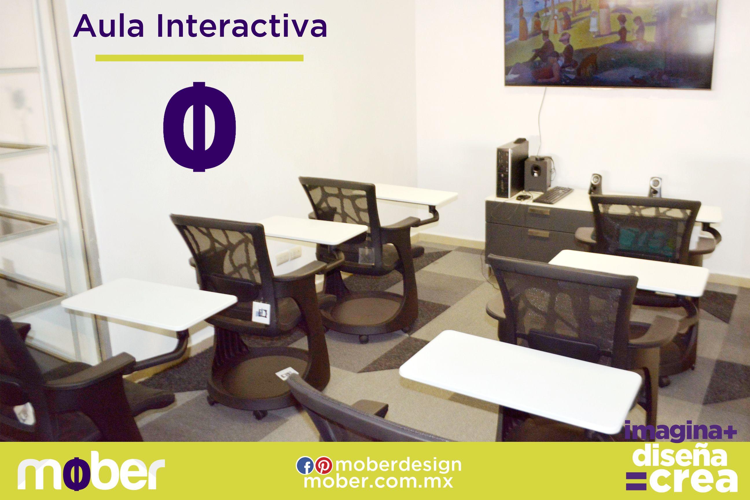 Mober le da a los espacios académicos el mayor confort gracias a su tecnología e incrementa el rendimiento escolar!