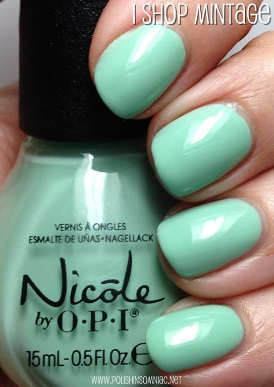 Nicole by OPI ♥ New for 2014 Shades (Swatch SPAM) | OPI, Nail nail ...