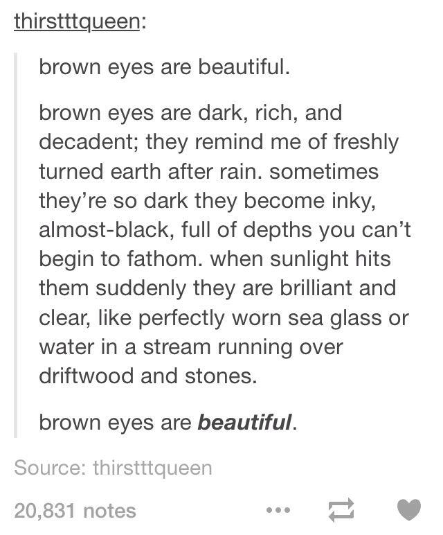 Brown Eyes Tumblr Brown Eyes Tumblr Eye Quotes Brown Eye Quotes