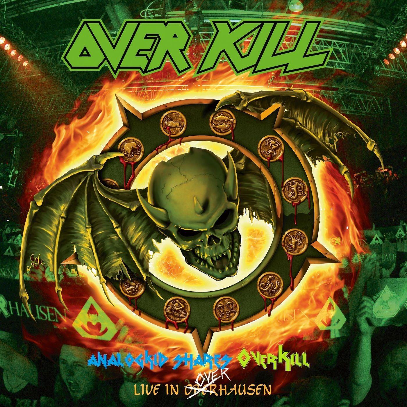 Overkill Live in Overhausen Pochette