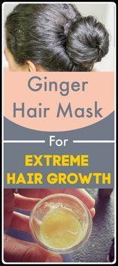 Ginger Hair Mask For Extreme Hair Growth Promote Hair Growth  #hairgrowth #hair#...#extreme #ginger #growth #hair #hairgrowth #mask #promote #fasterhairgrowth