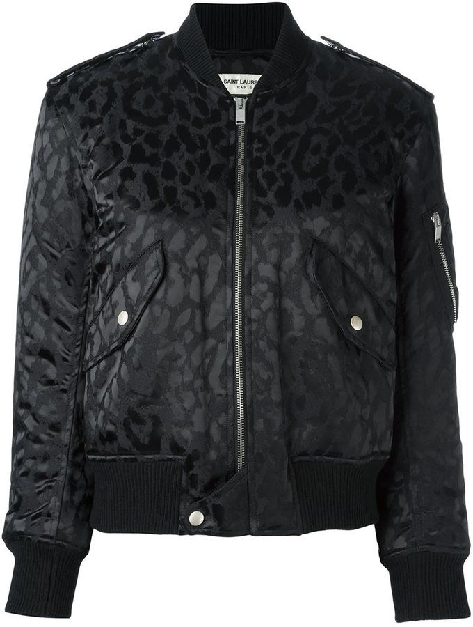 MONCLER leopard print padded jacket: perfect #moncler