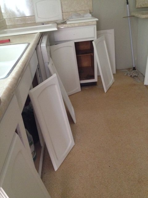 Painting The Cabinets Semigloss Dove White Benjamin
