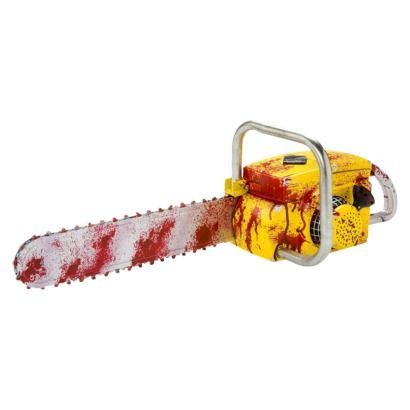 Chainsaw with Sound Deluxe Animated Prop Dead Man\u0027s Party- FX - animated halloween decorations