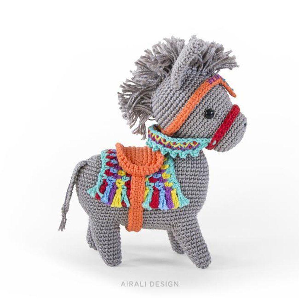Pedro the Donkey   tejido   Pinterest   Croché, Ganchillo y Caballo ...