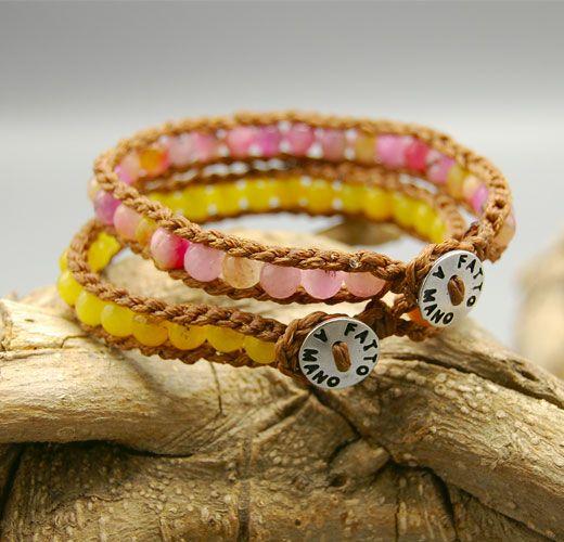 Bracciali con #stylefashionfashionagata della linea Essential Color.  #fashion #shoppingonline #shopping #style #bracelet #jewelry #jewelrydesign #bijou #bijouxcreateur #handmade #madeinitaly #madewithlove #MadeInItaly #necklace