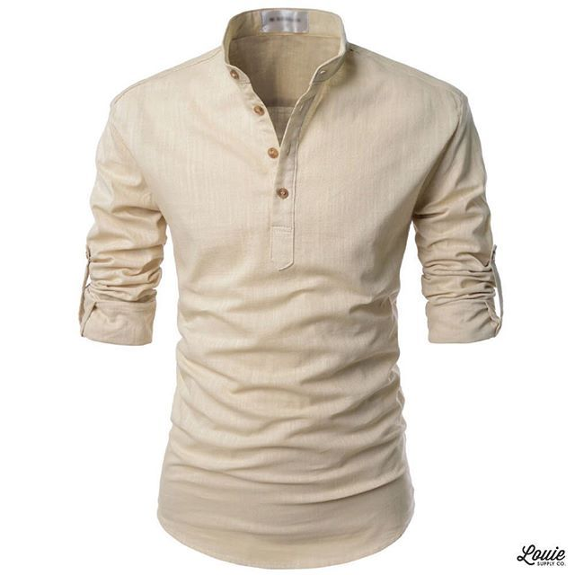 df6ff31f7109 New Drop  Bali roll-up linen summer shirt now available in 4 colors at  www.louiesupply.com