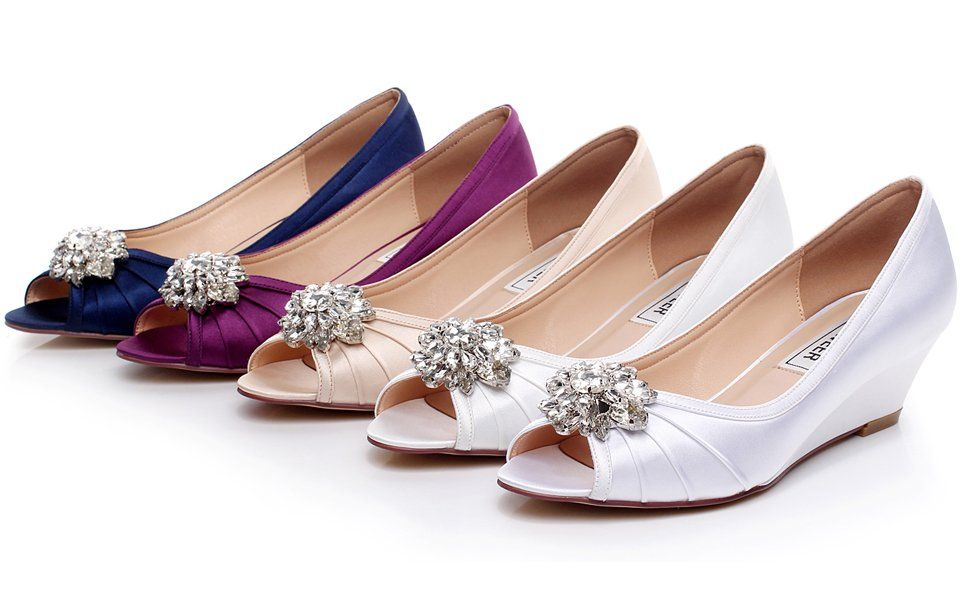 973fba33e5f 34 Cute + Most Comfortable Wedding Shoes Flats Wedges Heels