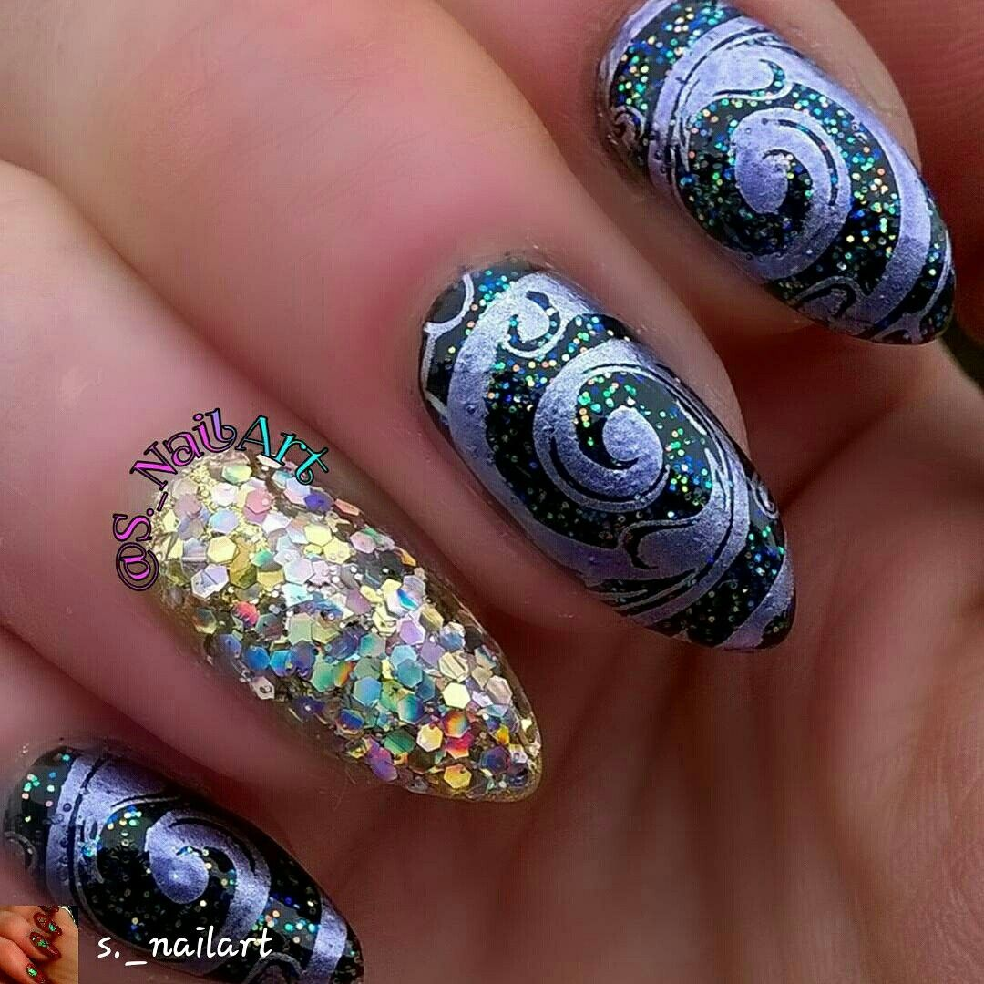 Pin by Malea on All abt Nails! | Nail art diy, Instagram