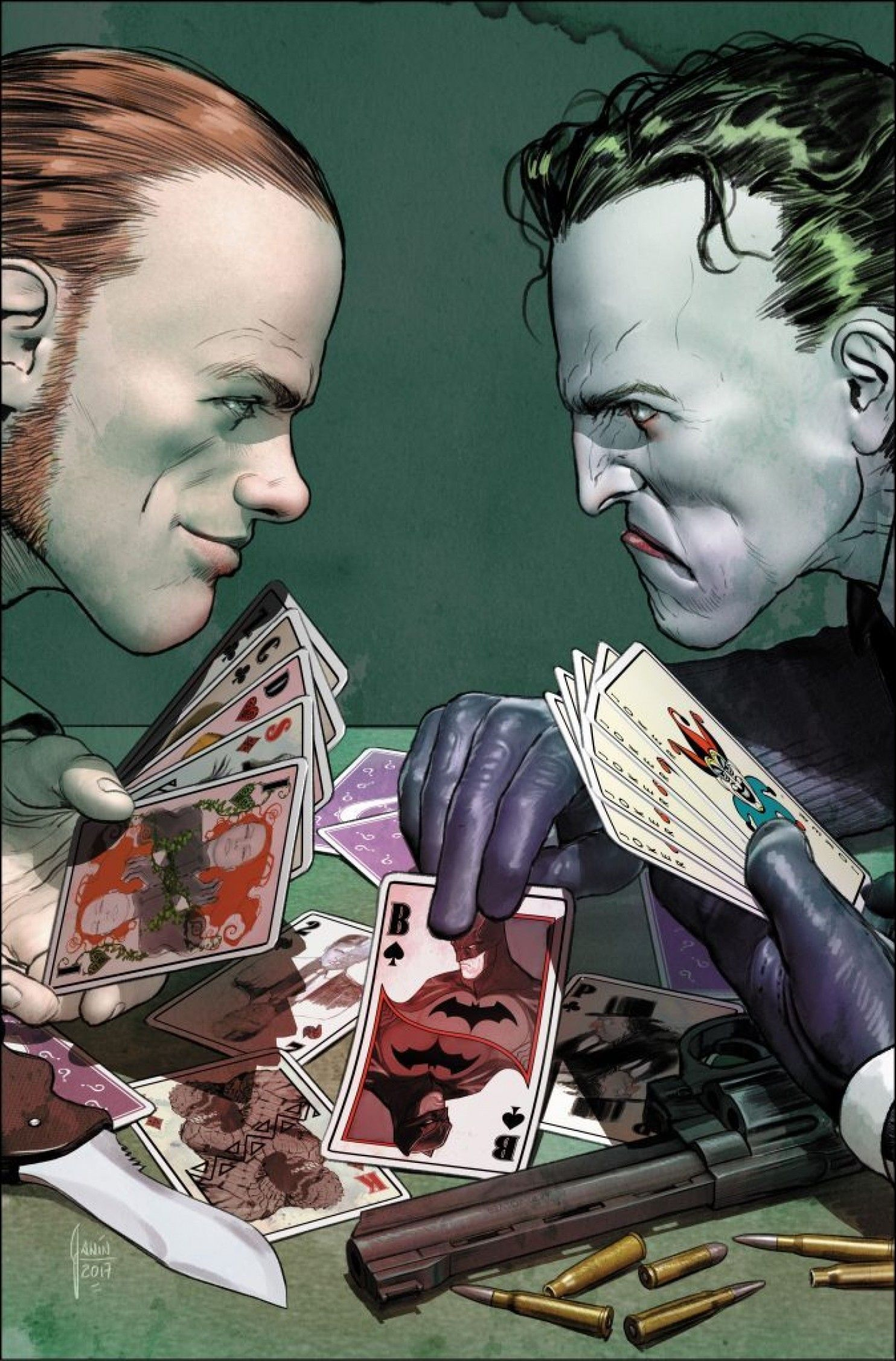 The Joker and the Riddler are going to war over who will
