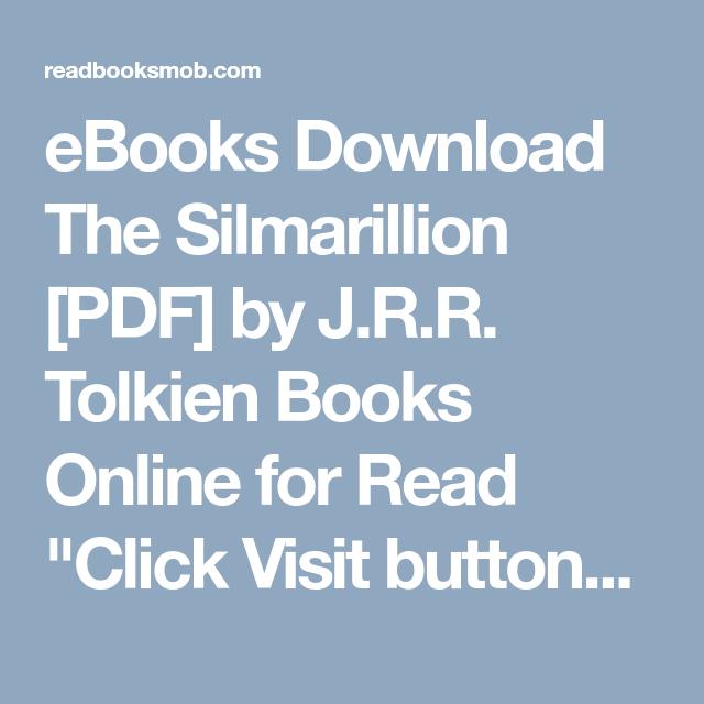 Ebook the free download silmarillion