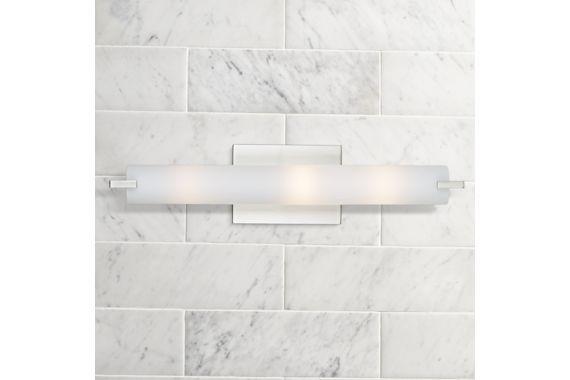 Saber Brushed Nickel George Kovacs Bathroom Light Eu88870