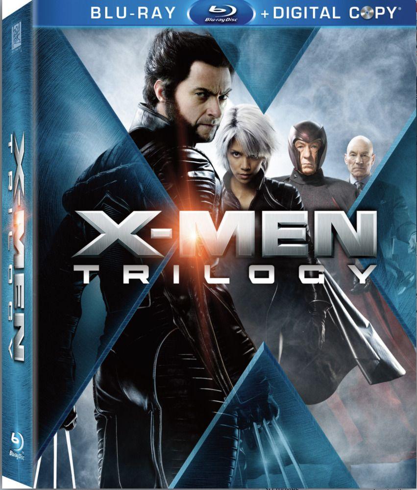 X Men Trilogy Pack Blu Ray Disc 2009 9 Disc Box Set With Cover Hugh Jackman Blu Ray Discs X Men Hugh Jackman