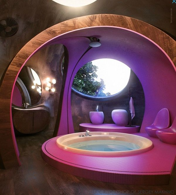 21 Unique Bathroom Designs