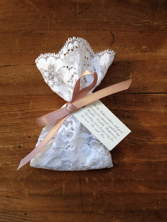 Lace Favor Bag Italian Wedding Favors Jewelry Pouches Candy Baptism