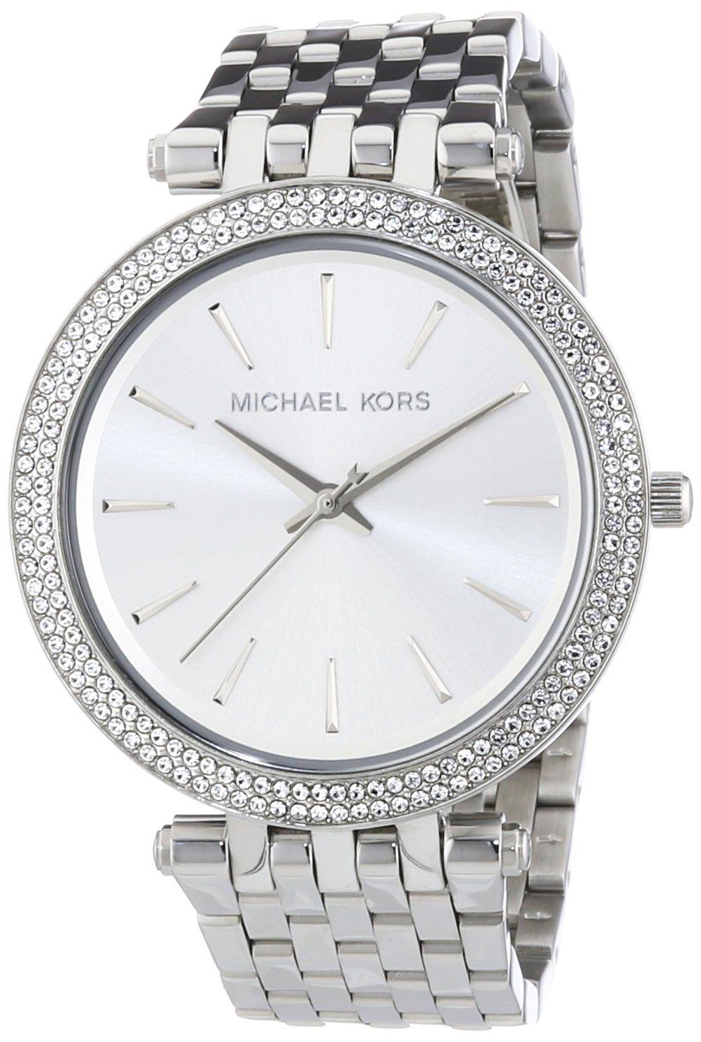 Michael Kors Mk3190 Montre Femme Quartz Analogique Cadran Fossil Cecile Multifunction Stainless Steel And Acetate Watch Am 4632 Argent Bracelet Acier