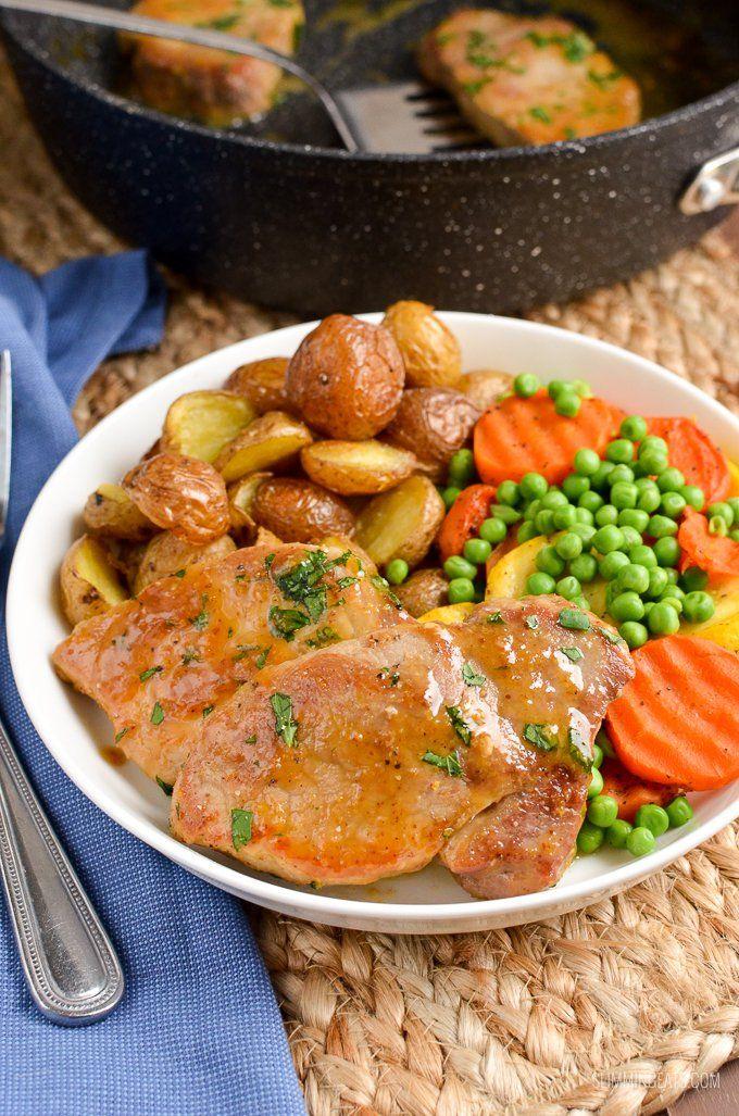 Low Syn Honey Mustard Glazed Pork Loins - Tender Pork with ...