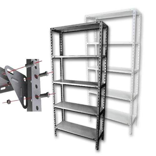 Estanteria Metalica 70x30 X 2mts Para 50kg Todo Estantes 5 549 00 Estanterías Metálicas Estanteria Estantes De Metal
