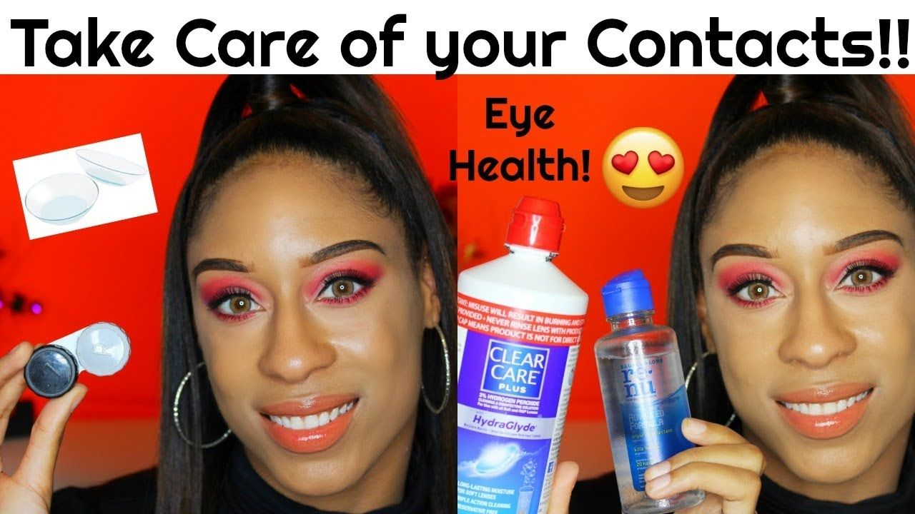 How to take care of contact lenses must watch eye