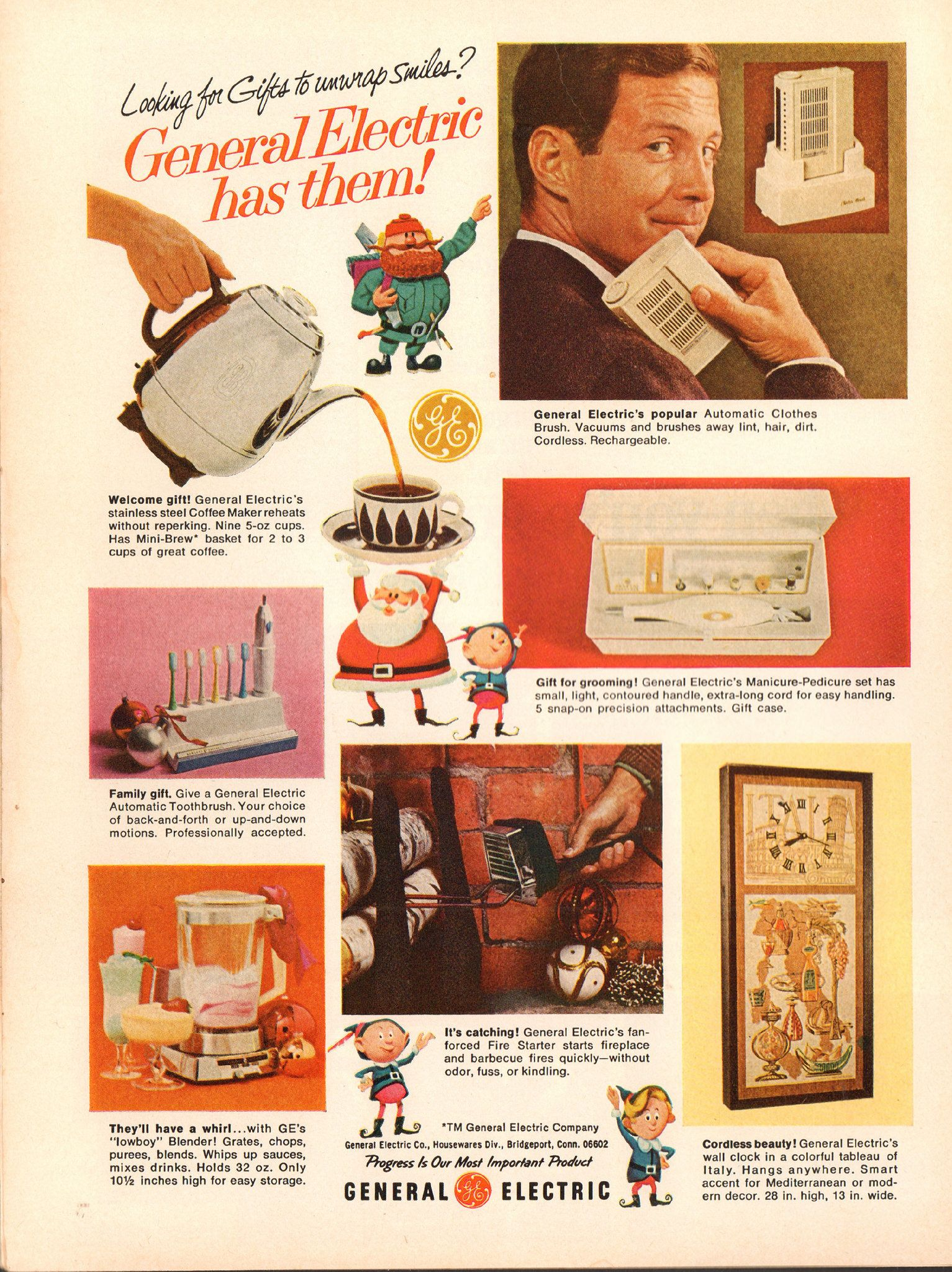https://flic.kr/p/P8qExP | 1967 General Electric Christmas Advertisement Time Magazine December 8 1967 | 1967 General Electric Christmas Advertisement Time Magazine December 8 1967