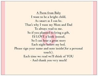 The young juggling mum baby shower invite poem a poem from baby the young juggling mum baby shower invite poem a poem from baby books filmwisefo