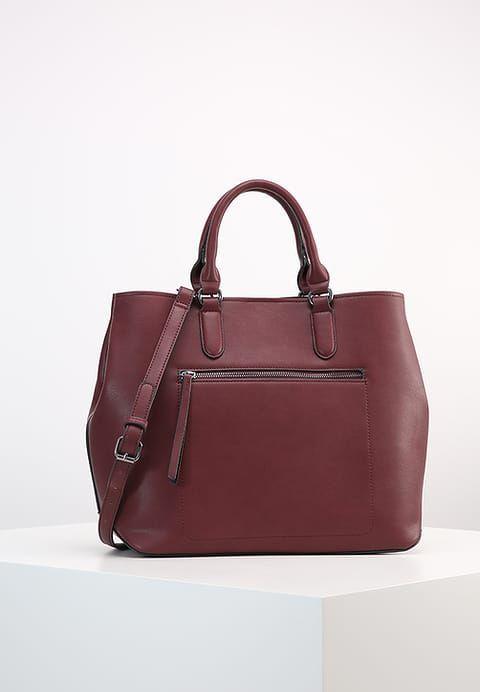 Bestill  Even&Odd Shopping bag - burgundy for kr 227,00 (14.04.17) med gratis frakt på Zalando.no