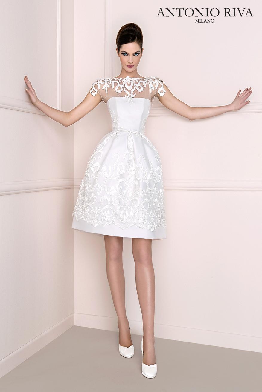 Wedding dresses on short brides  tonioriva  ANTONIO RIVA  Sposa   Pinterest