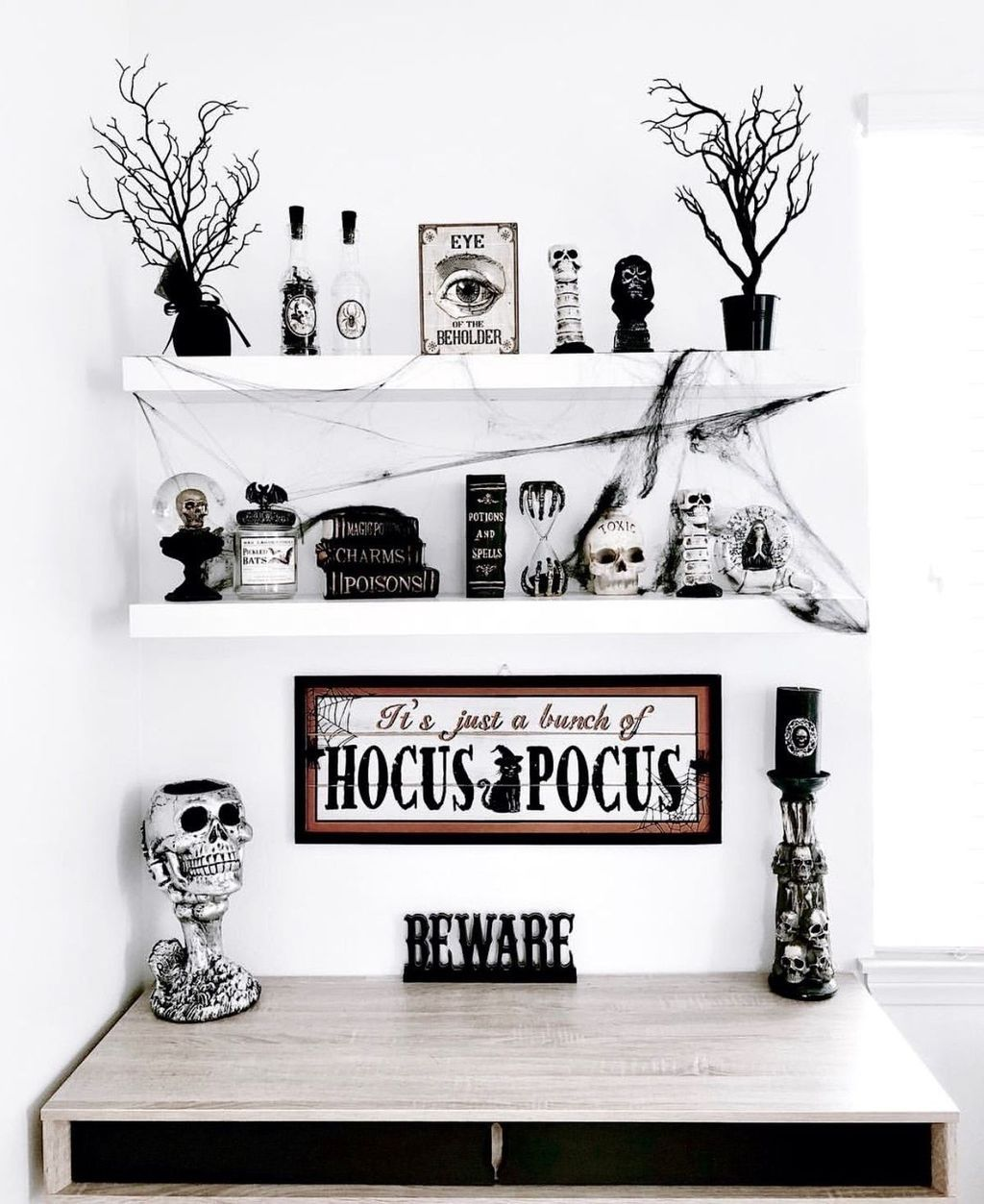16+ Frightening Witch Home Interior Decoration Ideas For Halloween