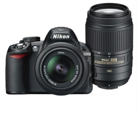New Nikon D3100 Dslr Af S 18 55mm 55 300mm Lenses Best Price In India At Rs 56 990 Shop New Nikon D3100 Dslr Af S 18 55mm 55 300mm L Nikon D3100 Nikon Lenses