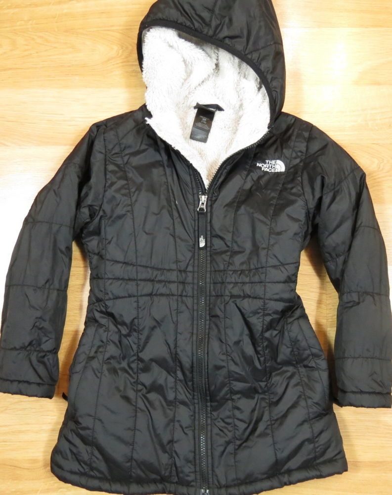 faac19f80 GIRLS THE NORTH FACE INSULATED WINTER JACKET SIZE S SMALL 7-8 ...