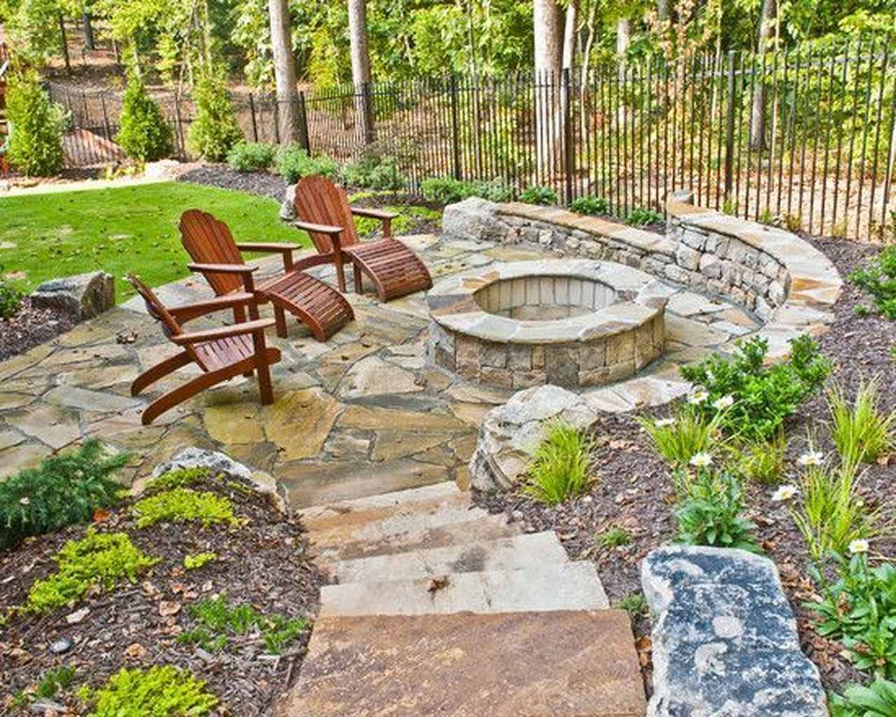 85 Outdoor Fire Pit Seating Design Ideas For Backyard Fire Pit Backyard Garden Fire Pit Fire Pit Seating