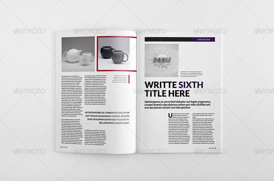 Magazine Bundle 10 Creative resume templates