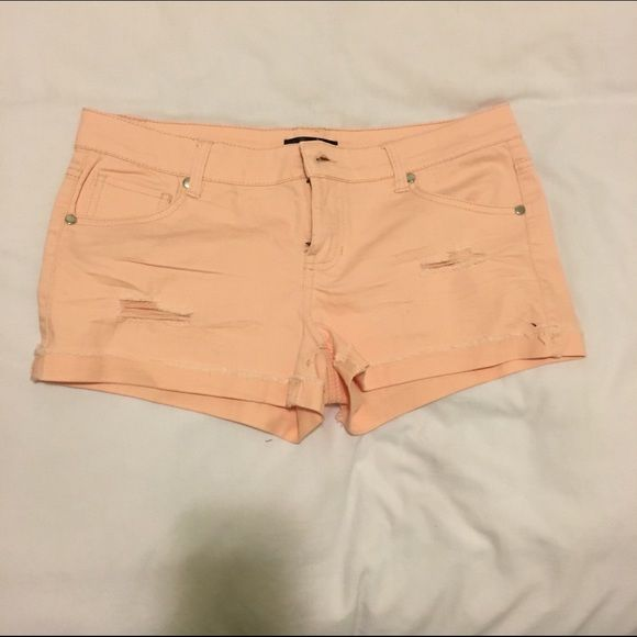Pink shorts Pink shorts never worn. From the Nordstrom rack. Size 7 Shorts