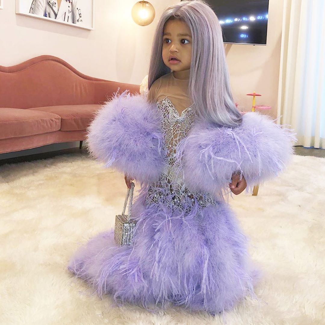 It is safe to say Miss Stormi Webster is the winner for