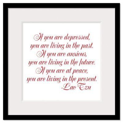 Lao Tzu Framed Print