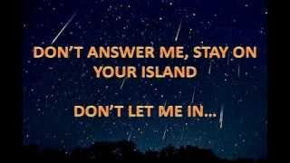 Don't Answer Me - Alan Parsons Project (With Lyrics), via YouTube.