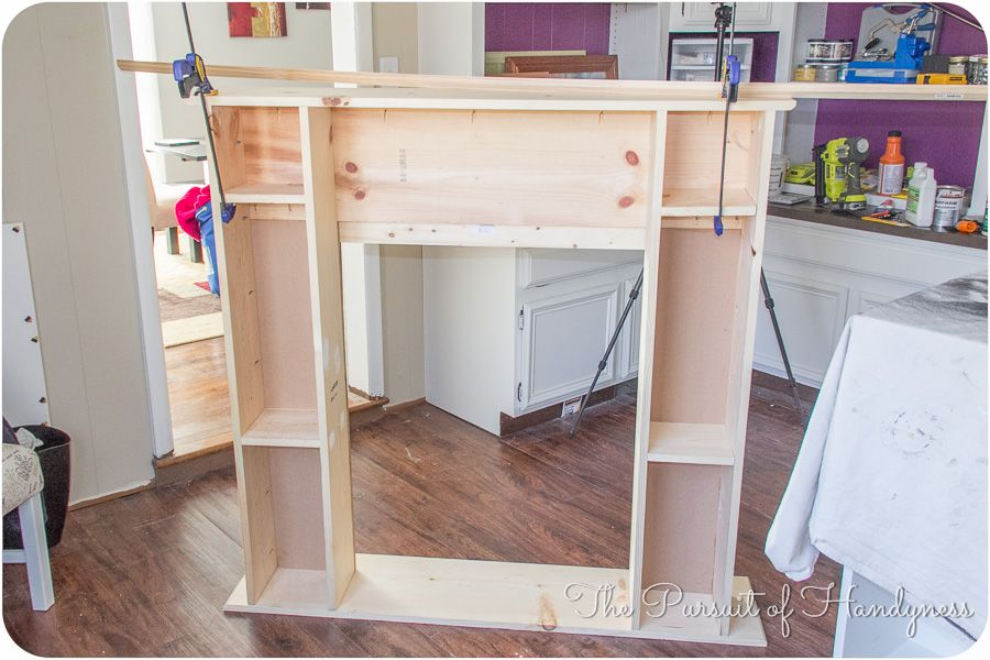 Diy Faux Fireplace - The Pursuit of Handyness | Furniture ...