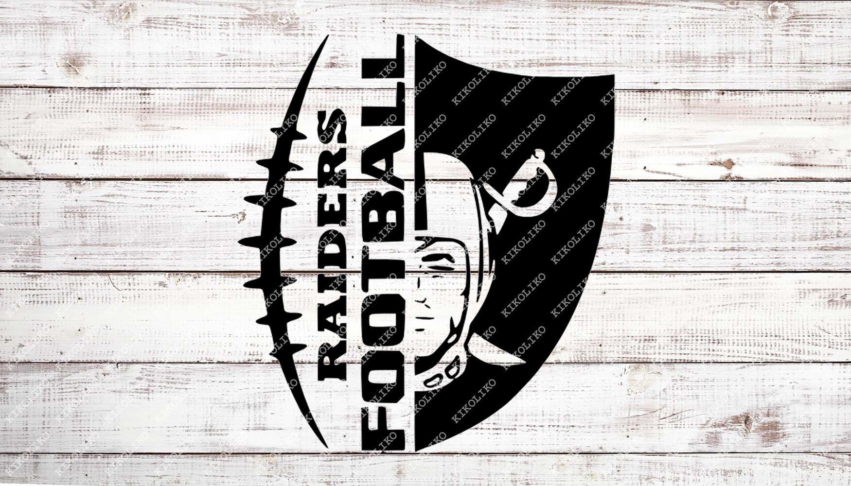 Raiders Football Svg File Football Svg Raiders Svg