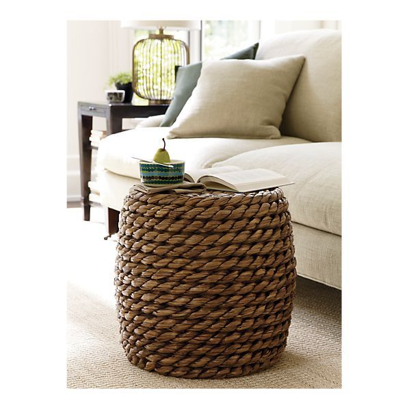 Room · Samar Ottoman   $119 Crate And Barrel.