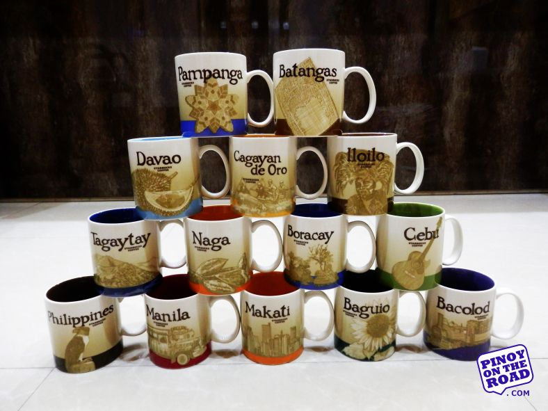 Starbucks Philippines Complete Icon Mug Collection