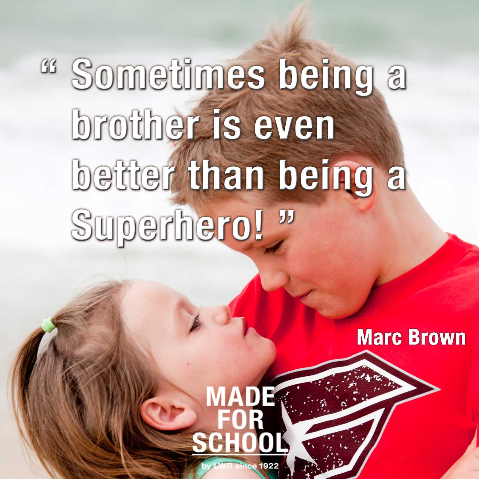Happy Sister And Brothers Day: Quotes About Brothers Protecting Sisters. QuotesGram