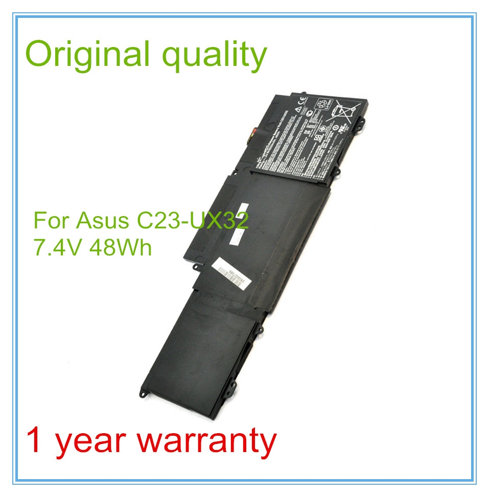 66.36$  Watch here - http://ali2tt.worldwells.pw/go.php?t=1870792557 - Original New Laptop Battery for X32VD UX32A U38N UX32 Battery C23-UX32 48WH 6520mAh 66.36$