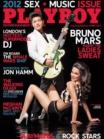 Bruno Mars na....Playboy? O cantor é o décimo homem a estampar a capa da publicação.